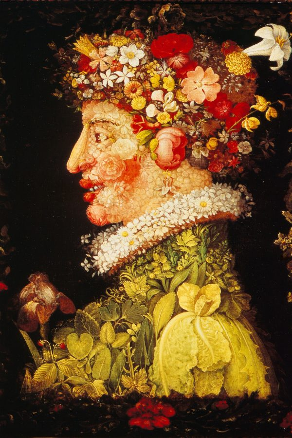 """Arcimboldo's """"Spring"""" (1573). (In the collection of the Louvre. Scala/Art Resource, N.Y.)"""